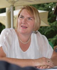 Helga Krismer  Baden Koalitionspartner Bürgermeister-Kandidat Szirucsek