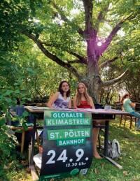 Demo am Freitag - St. Pöltens Grüne werden 30 – Klimaschutz geht weiter