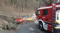 Sturmschäden: Baum stürzt auf PKW