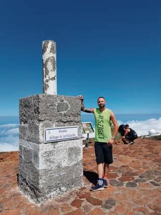 Auf Ferieninsel - St. Pöltner Pub-Besitzer ist der Lava knapp entronnen