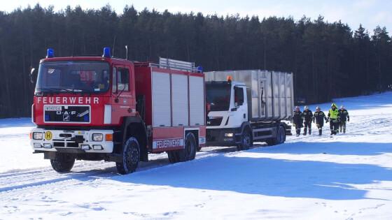 LKW-Bergung FF Waidhofen/Thaya