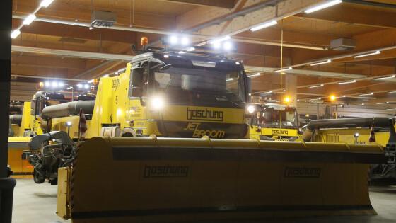 Flughafen Wien bereitet sich auf den Winter vor: 500 Mitarbeiter stehen für Schneeräumung und Flugzeug-Enteisung bereit