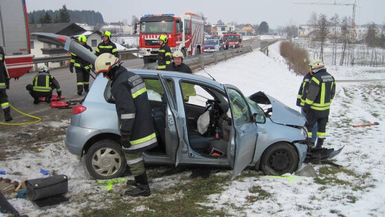 Verkehrsunfall Weistrach