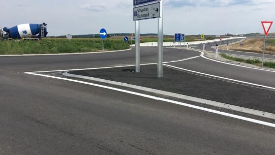 Kreisverkehr B9