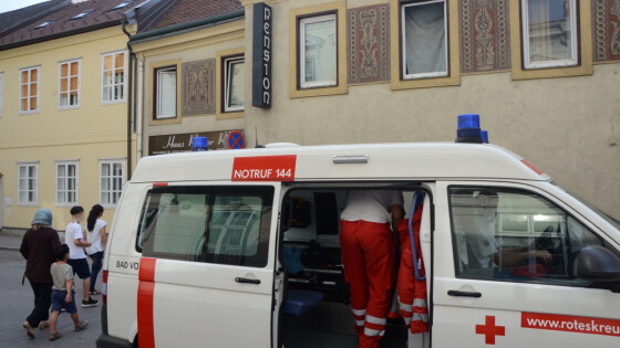 Pfefferspray in Flüchtlingsheim