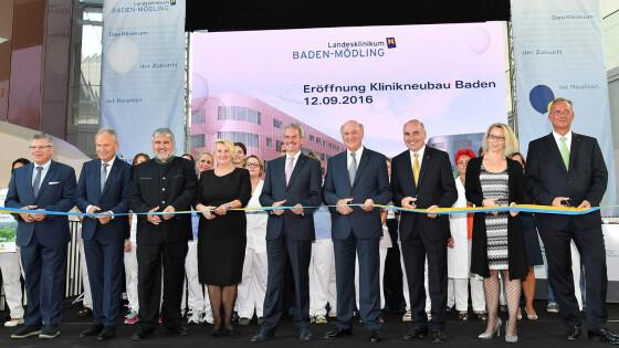 Eröffnung des neuen Landesklinikums Baden