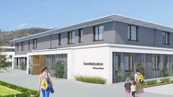 das neue Gesundheitszentrum in Kirchberg