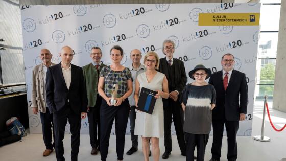 Überreichung der Kulturpreise 2020 mit Landeshauptfrau Johanna Mikl-Leitner