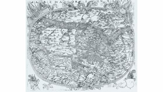 Abb. 4 NÖ-Karte von Lazius-kopie