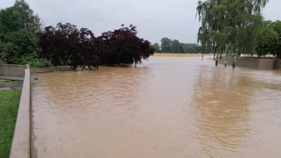 Zivilschutzalarm auch in Aschbach Markt 55 Wehren im Bezirk Amstetten im Kampf gegen Hochwasser