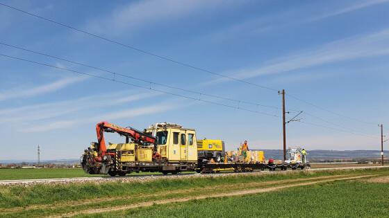 Mariazellerbahn: Weiße Schienen verringern Hitzeschäden