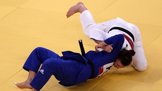 Polleres (in Weiß) zog ins Semifinale ein