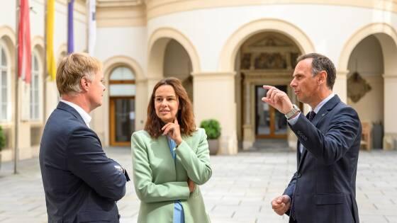 Michael Duscher – Geschäftsführer Niederösterreich Werbung, Sophie Karmasin