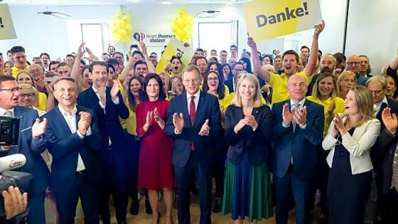 Wahlsieger ÖVP legt leicht zu