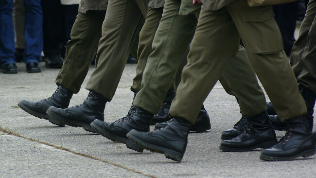 Soldat Soldaten Bundesheer Kaserne Grundwehrdiener Symbolbild