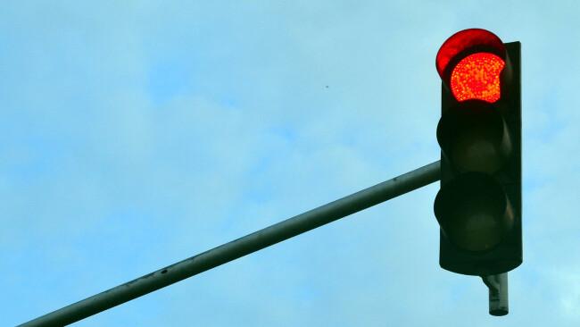 Ampel Rotlicht Symbolbild