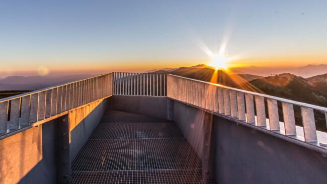 Sonnenaufgang am Hochkar