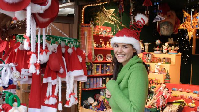 Adventmarkt Advent Weihnachtsmarkt Symbolbild