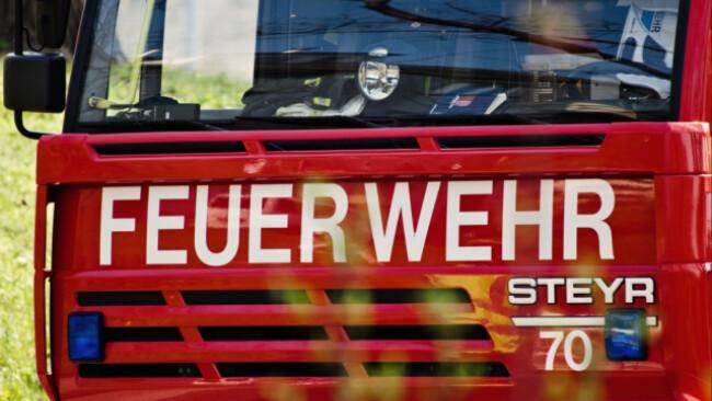 Feuerwehr löschte die Flammen