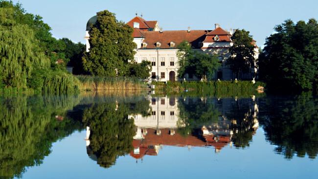 Schloss Ruegers quer 3 c Burg Hardegg Schloss Ruegers Symbolbild