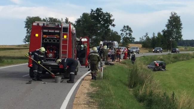 WG: Verkehrsunfall mit Personenschaden auf der B119