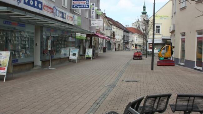 Fußgängerzone Bruck