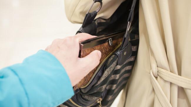 Taschendieb Symbolbild