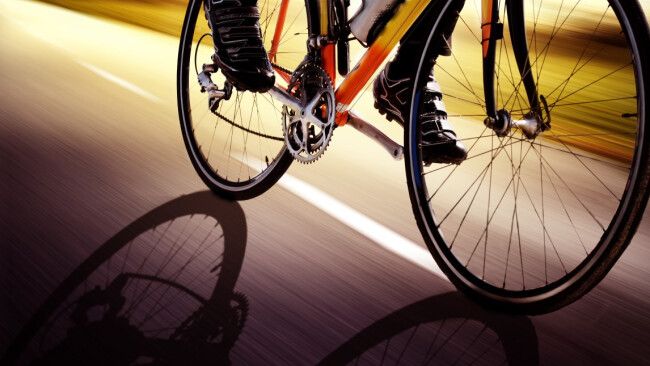 Rad Radfahren Symbolbild