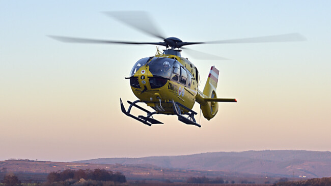 "Rettungshubschrauber ""Christophorus 10"" flog den 15-Jährige ins Spital"
