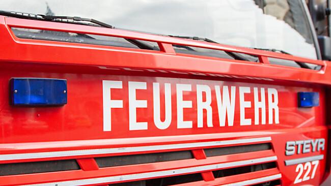 Vier Feuerwehren waren mit 95 Kräften im Einsatz