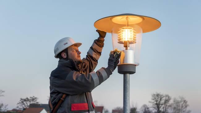 Straßenbeleuchtungs-Check in der Marktgemeinde Sooß