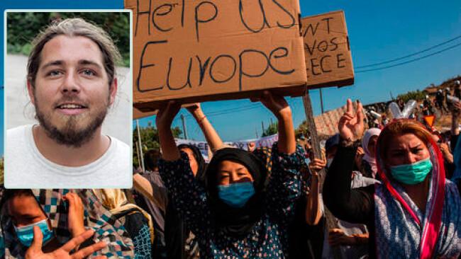 Pascal Violo Güssinger startet Hilfsaktion für Moria Engagement -
