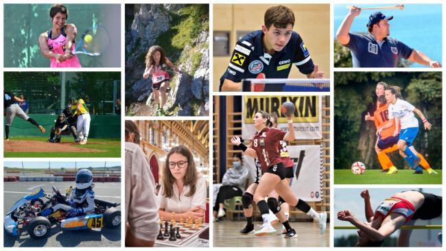 Sportlerwahl 2020 Collage Baden