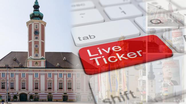 Gemeinderatswahl St. Pölten 2021 Liveticker