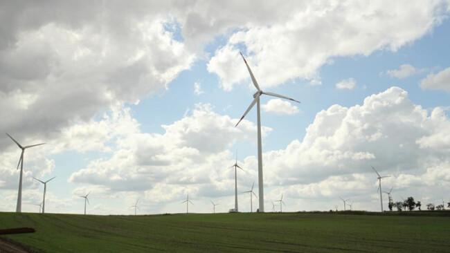 Windkraft Wind Energie Windpark