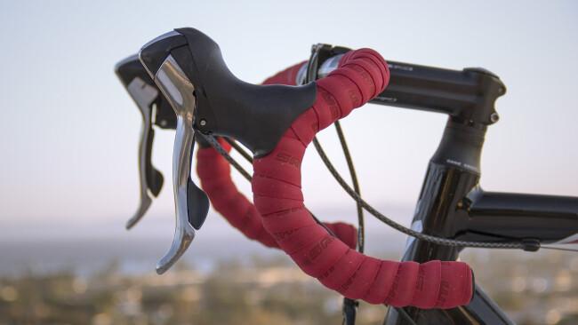 Rennrad Radfahrer Symbolbild