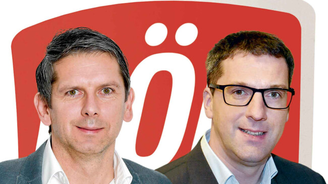 Walter Fahrnberger und Daniel Lohninger