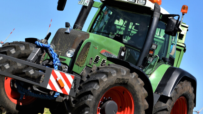 Traktor Symbolbild