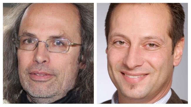 Wolfgang Rehm und Christopher Seif