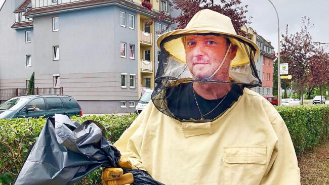Feuerwehr rückte zu Insekteneinsatz aus