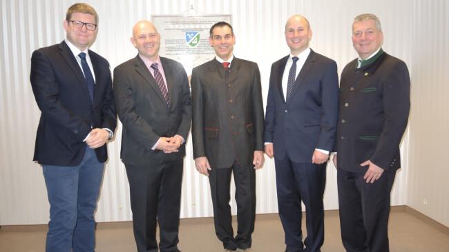 Moosbrunn  Paul Frühling ist neuer Bürgermeister