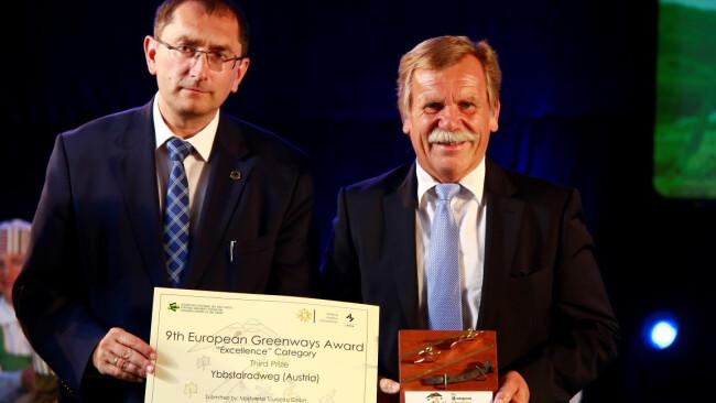 Ybbstalradweg-Auszeichnung