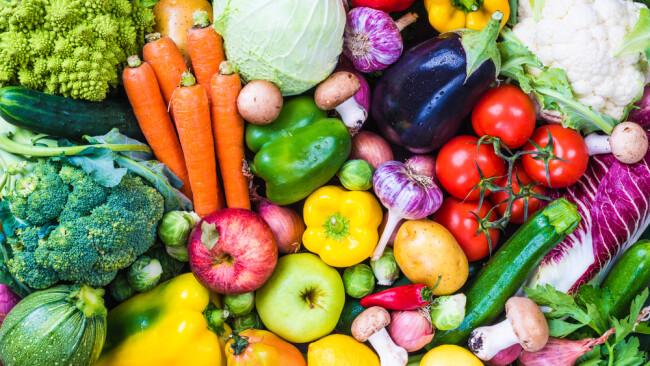 Obst Gemüse Symbolbild