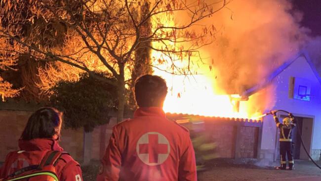 Bruck: Brandalarm in der Siedlung