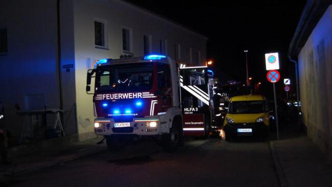 Zimmerbrand in Wilhelmsburg