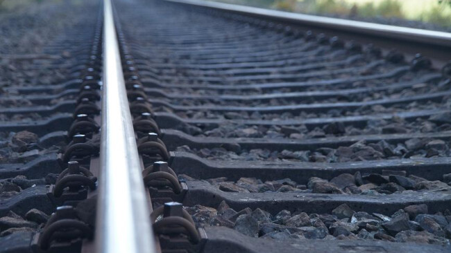 Gleise Schienen Zug Bahn