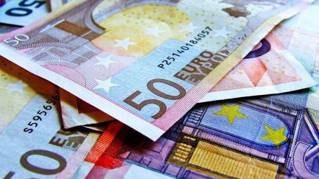 Geld Banknoten Geldscheine Euro