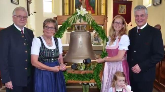 Glockenweihe Wallmersdorf