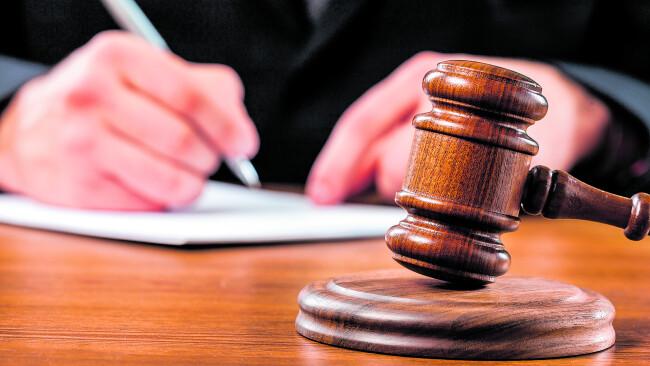 Prozess Gericht Symbolbild