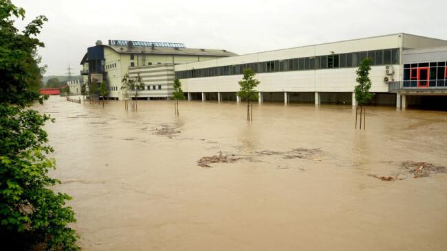 Hochwasser Wieselburg 2014